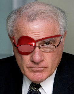 Eye patch - Geoffrey Palmer