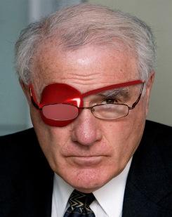 Eye patch - Geoffrey Palmer