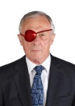 Eye patch - Prof John Burrows