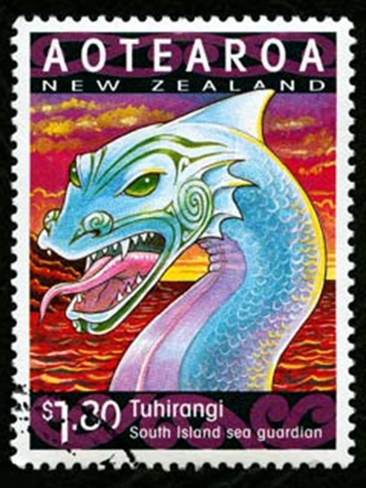 Stamp - Aotearoa taniwha